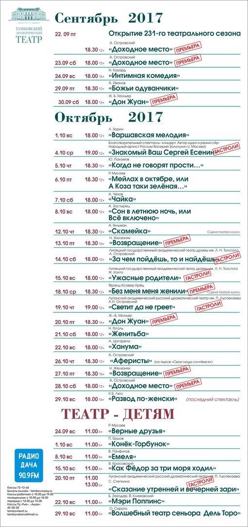 драмтеатр пенза афиша на ноябрь самых популярных лучших